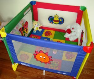 Big Old Fashioned Play Pen
