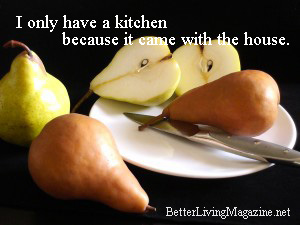 Pears on a plate Better Living Magazine