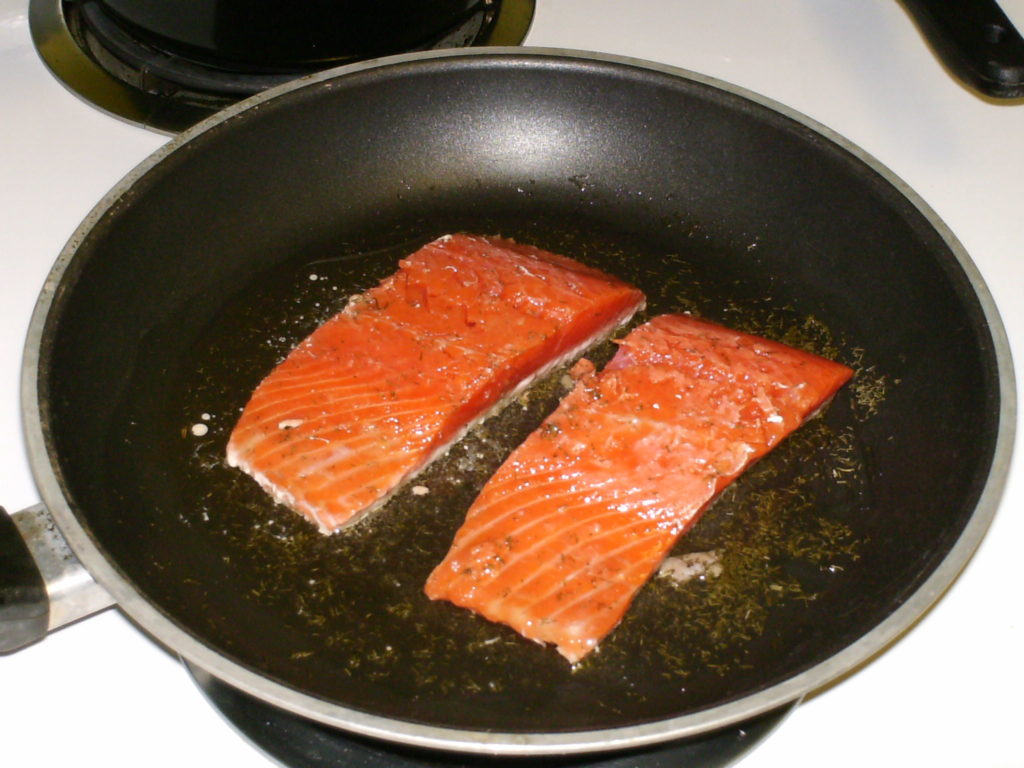 How to cook salmon filet