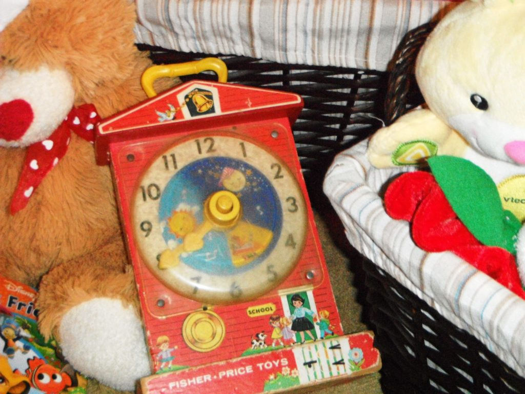 Fisher Price Old Toy Clock Toys